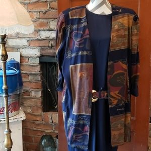 3 Piece Jacket and Belted Dress size 22